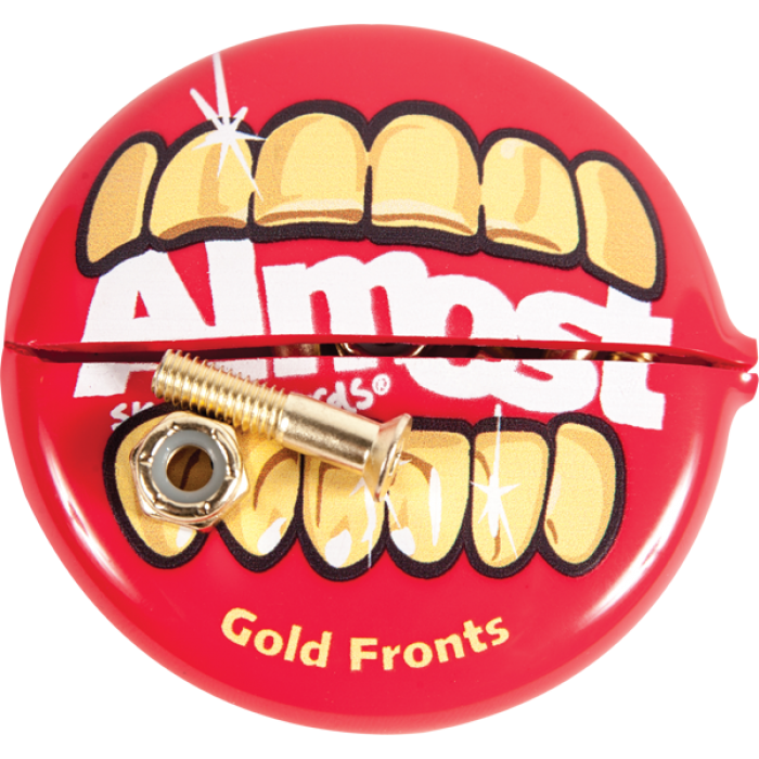 "ALM GOLD NUTS & BOLTS 1""ALLEN HARDWARE SET"