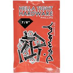 """DIAMOND HELLA TIGHT PHILLIPS 7/8"""" BLK/SIL HARDWARE"""