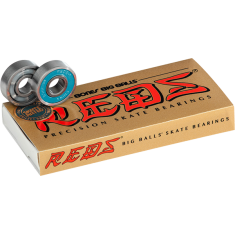 BONES BIG BALLS REDS (SINGLE SET) BEARINGS