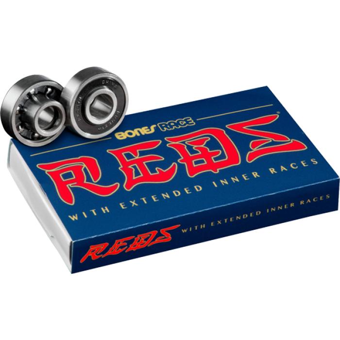 BONES RACE REDS (SINGLE SET) BEARINGS