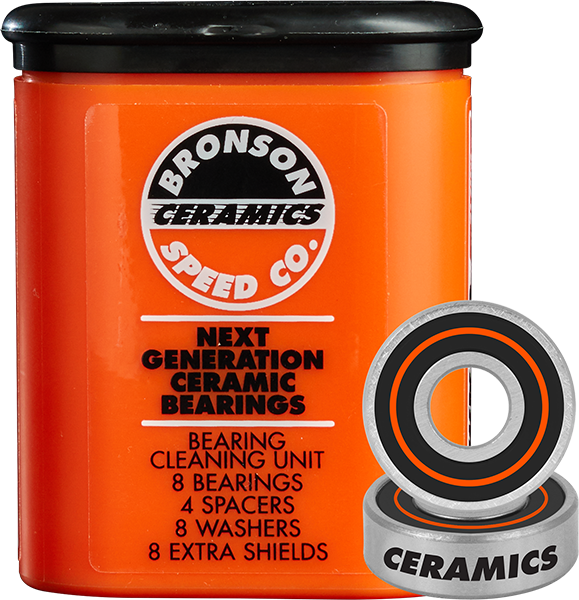 BRONSON CERAMIC BEARINGS SINGLE SET