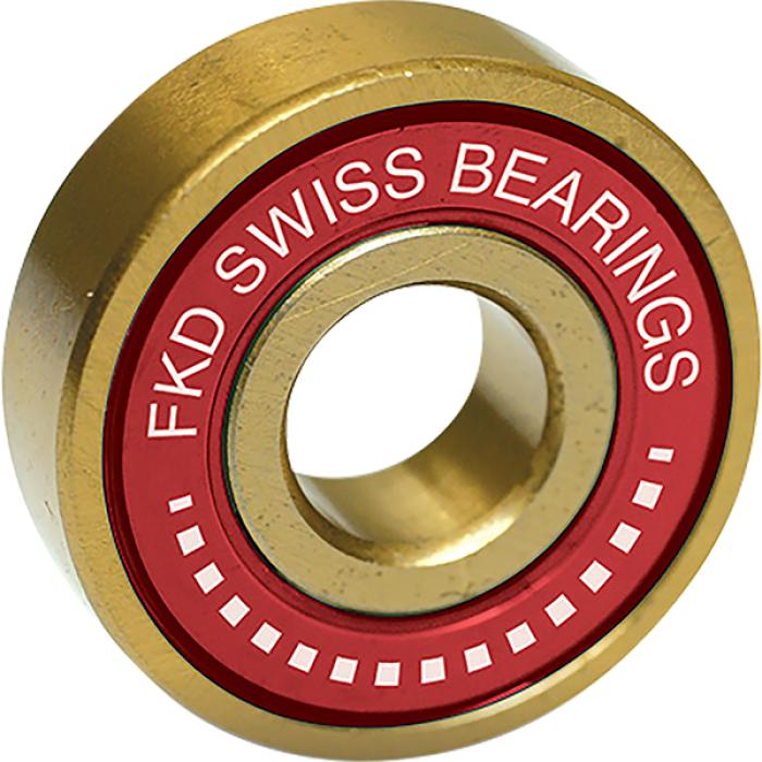 FKD SWISS GOLD BEARING SET GOLD/RED W/WHT