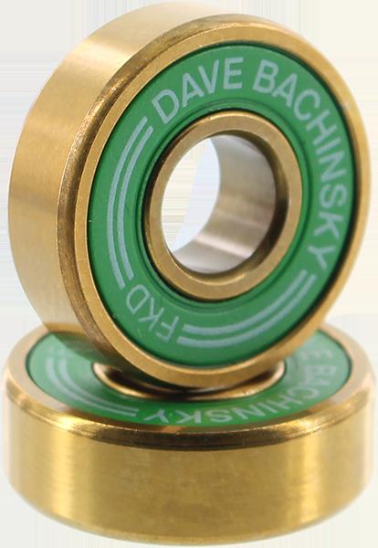 FKD BACHINSKY PRO GOLD BEARING SET GRN/GOLD