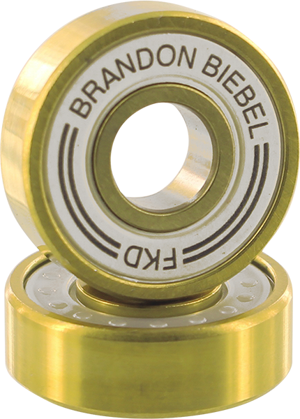 FKD BIEBEL PRO GOLD BEARING SET WHT/GOLD