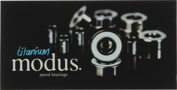 MODUS TITANIUM BEARINGS single set