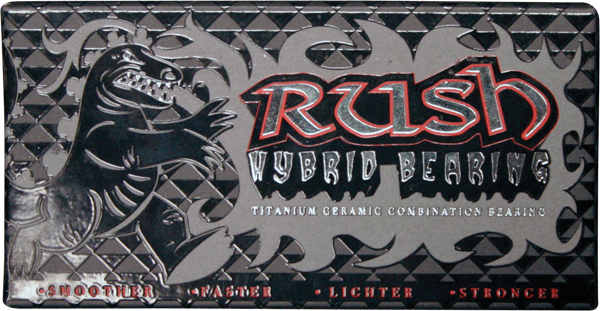 RUSH HYBRID BEARINGS titanium/ceramic