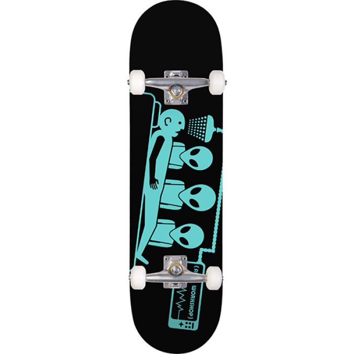 AW ABDUCTION COMPLETE-7.5 BLACK/TEAL