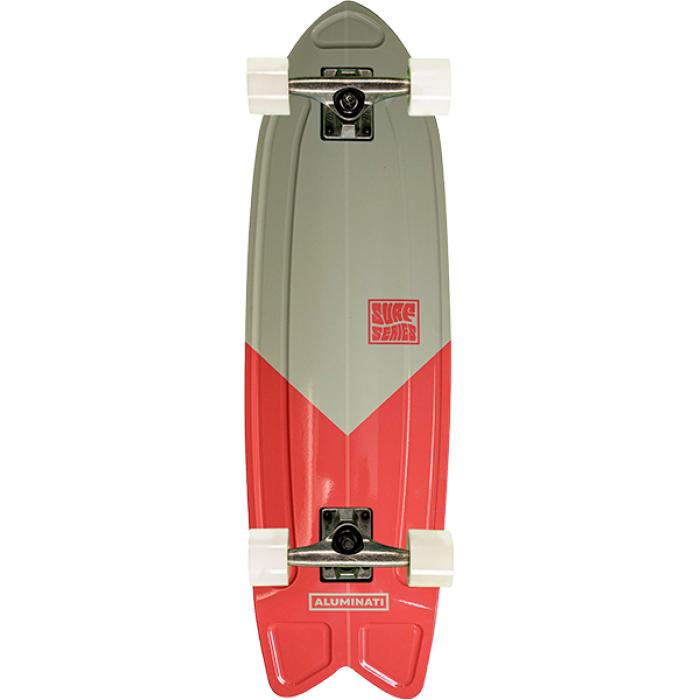 "ALUMINATI SUMMER SURF FISH COMP-8.12x28"" V-CUT"