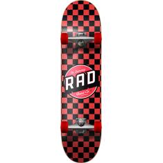 RAD CHECKER COMPLETE-7.75 BLK/RED