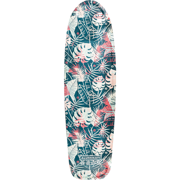 ALUMINATI FLORAL LEAVES JERRY DECK-8.12x28""