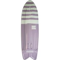 """ALUMINATI SUMMER SURF FISH DECK-8.12x28"""" STRIPES"""