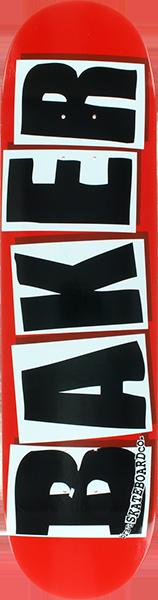 BAKER BRAND LOGO DECK-8.47 RED/BLACK