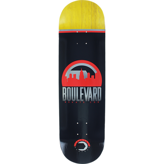 BLVD TRAVELER DECK-8.5 BLACK