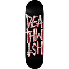 DW DEATHSTACK DECK-8.0 BLK/HOLO FOIL