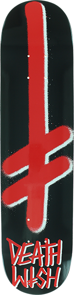 DW GANG LOGO DECK-8.0 BLK/RED
