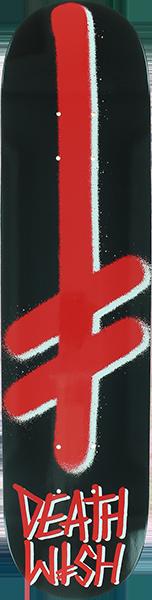 DW GANG LOGO DECK-8.5 BLK/RED