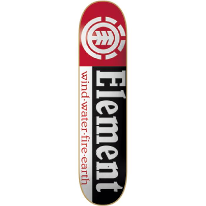 EL SECTION DECK-7.75 BLK/WHT/RED