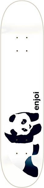 ENJOI WHITEY PANDA DECK-8.5 resin 7