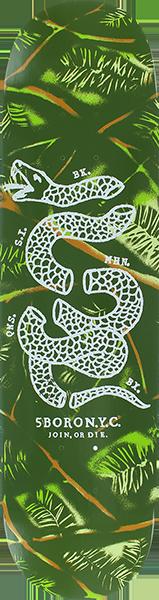 5BORO DIY CAMO DECK-8.5 PINE GREEN