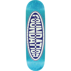 FOUND OVAL DECK-8.0 BLUE/NAVY screened