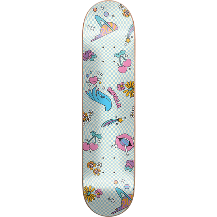 IMPALA ETHEREAL DECK-8.0 WHT/BLU etheral