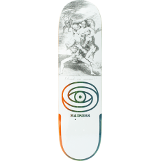 MADNESS DONDE DECK-8.5 WHT r7