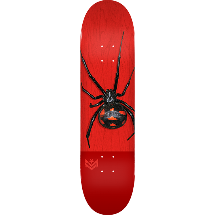 ML DECK 291/K-20 -7.75 POISON BLACK WIDOW RED