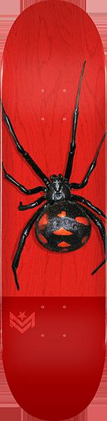 ML DECK 291/K-20 -7.75 POISON BLACK WIDOW RED