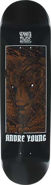 MOONSHINE YOUNG BISON DECK-8.25