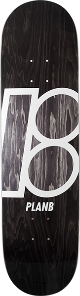 PLAN B STAINED DECK-8.0 BLACK