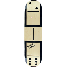 MIDNIGHT ICE CREAM WOODGRAIN DOMINO DECK-8.25
