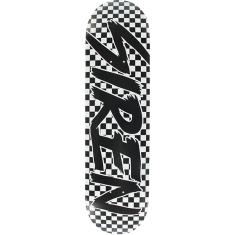 SIREN CHECKERS DECK-8.25 BLACK