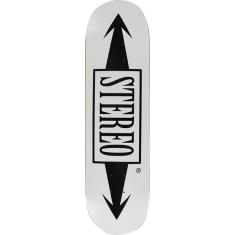 STEREO ARROW DECK-8.25 WHITE