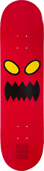 TM MONSTER FACE DECK-8.0 RED