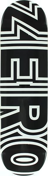 ZERO BOLD DECK-8.0 BLACK/WHT