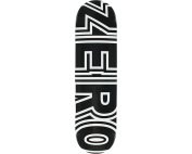 ZERO BOLD DECK-8.25 BLACK/WHT