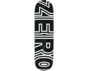 ZERO BOLD DECK-8.5 BLACK/WHT
