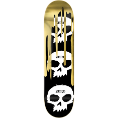 ZERO 3 SKULL WITH BLOOD DECK-8.0 GOLD FOIL