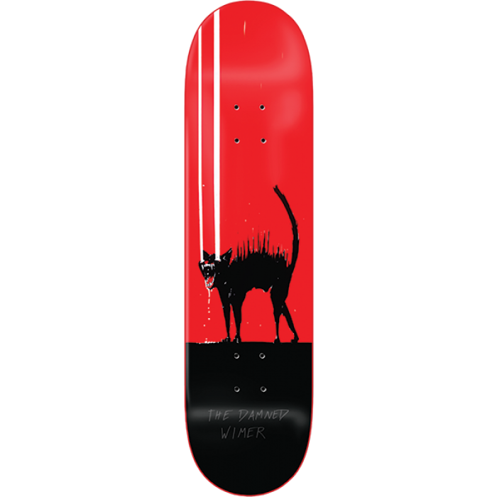 ZERO WIMER PC THE DAMNED DECK-8.0 RED DIP