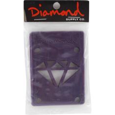 """DIAMOND 1/8"""" RISERS PURPLE 1set"""