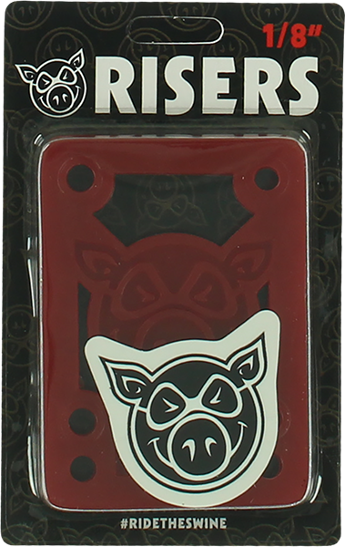 "PIG PILES 1/8"" SHOCK PAD RED single set"
