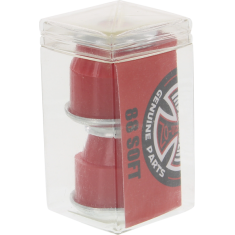 INDE STD CYLINDER CUSHIONS 88a RED 2pr w/washers