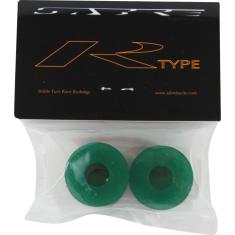SABRE R-TYPE BUSHINGS 93a CLR.GREEN 2pk w/washers