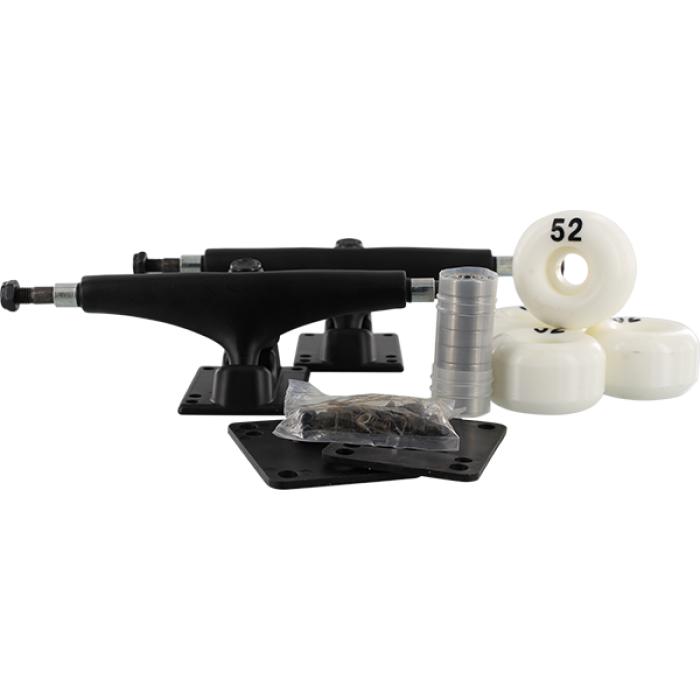 ESSENTIALS COMPONENT PACK 5.0 BLACK W/52mm WHITE