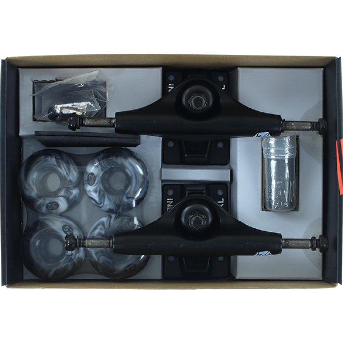 INS COMPONENT PACK 5.0 BLK/BLK w/52mm BK/WT SWIRL