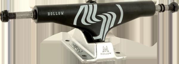 SILVER M-HOLLOW 8.0 BLK/RAW W/SIL