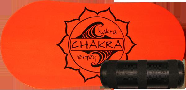 CHAKRA DECK/ROLLER BALANCE KIT- NEON ORANGE sale
