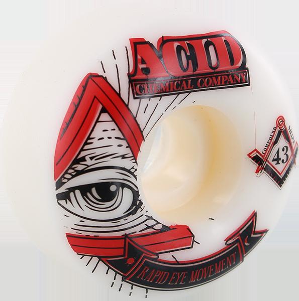 ACID REM PYRAMID 53mm 99a WHT