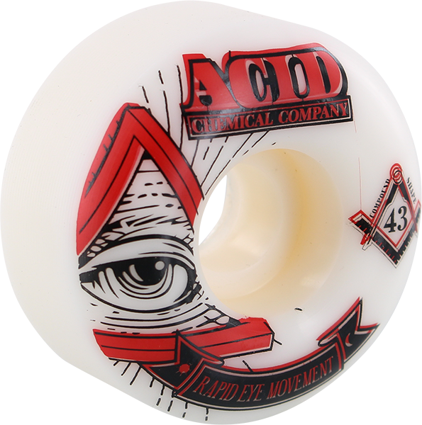 ACID REM PYRAMID 53mm 101a WHT