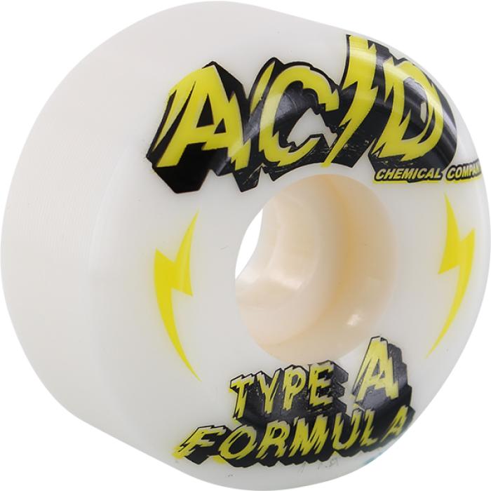 ACID TYPE A SIDECUT POWER 54mm 101a WHITE